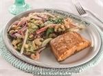Shrimp Salad com Salmão